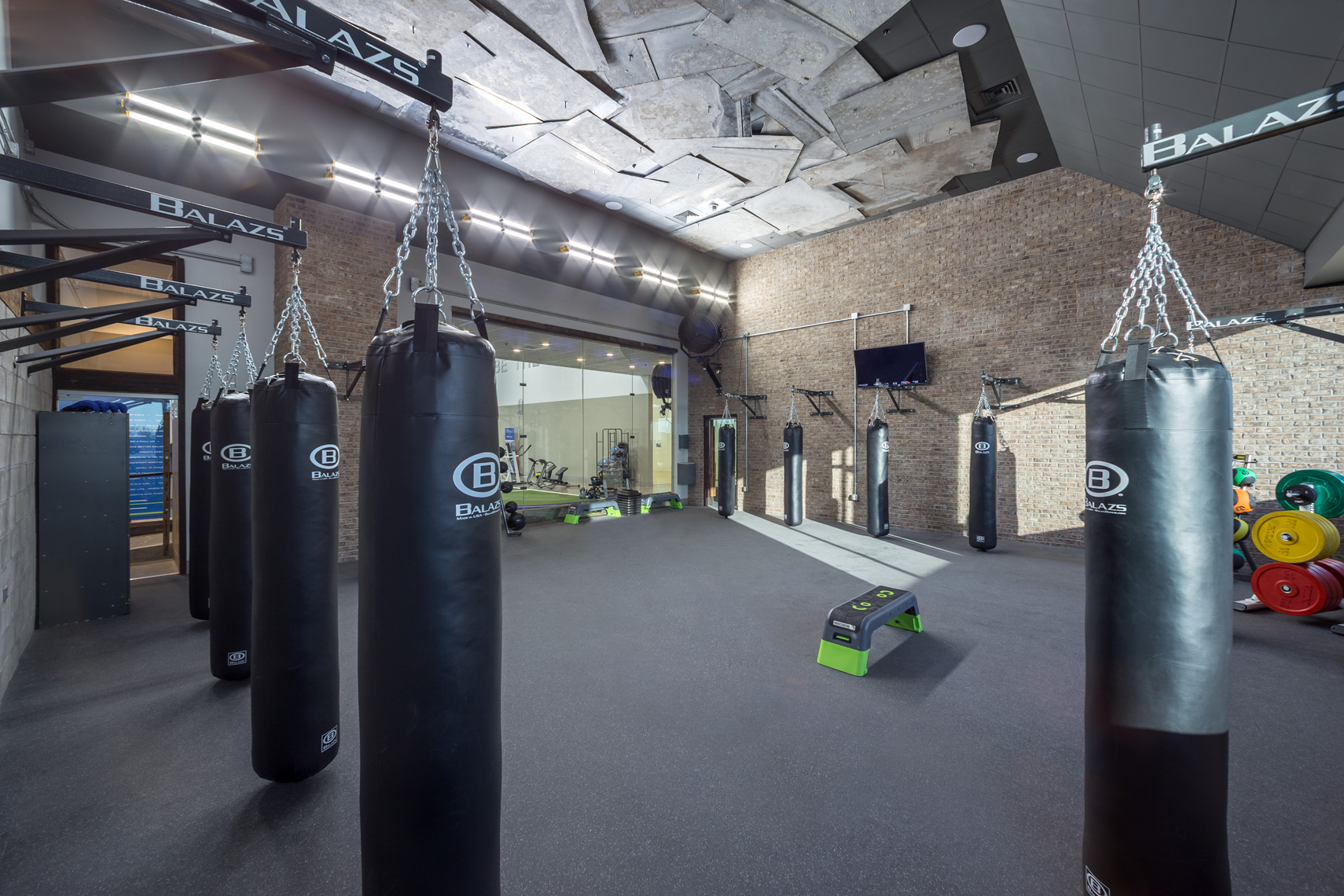 lighting application at Proof Fitness