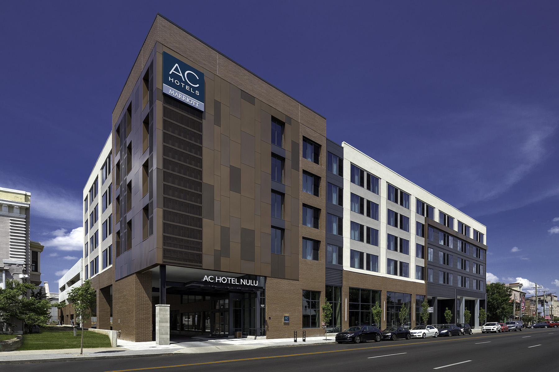 AC Hotel by Marriott exterior in Louisville