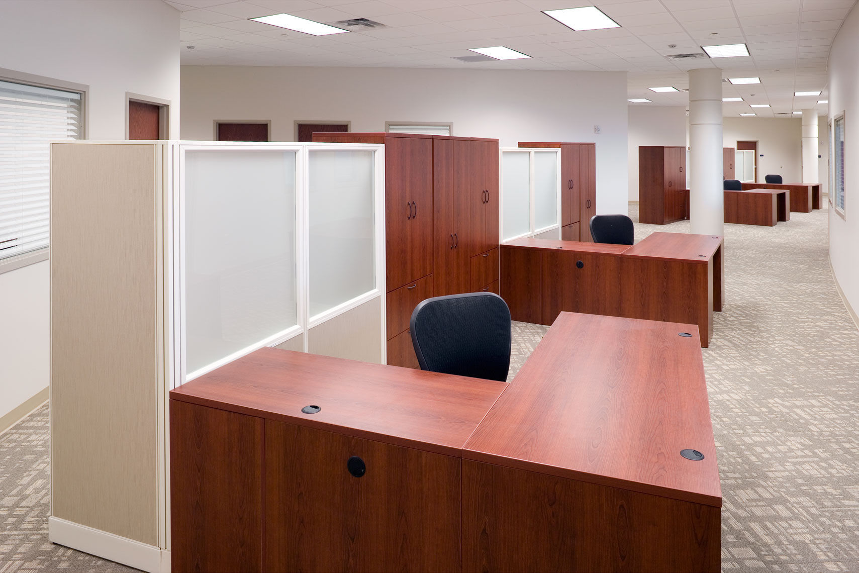 Open office design at Austal USA