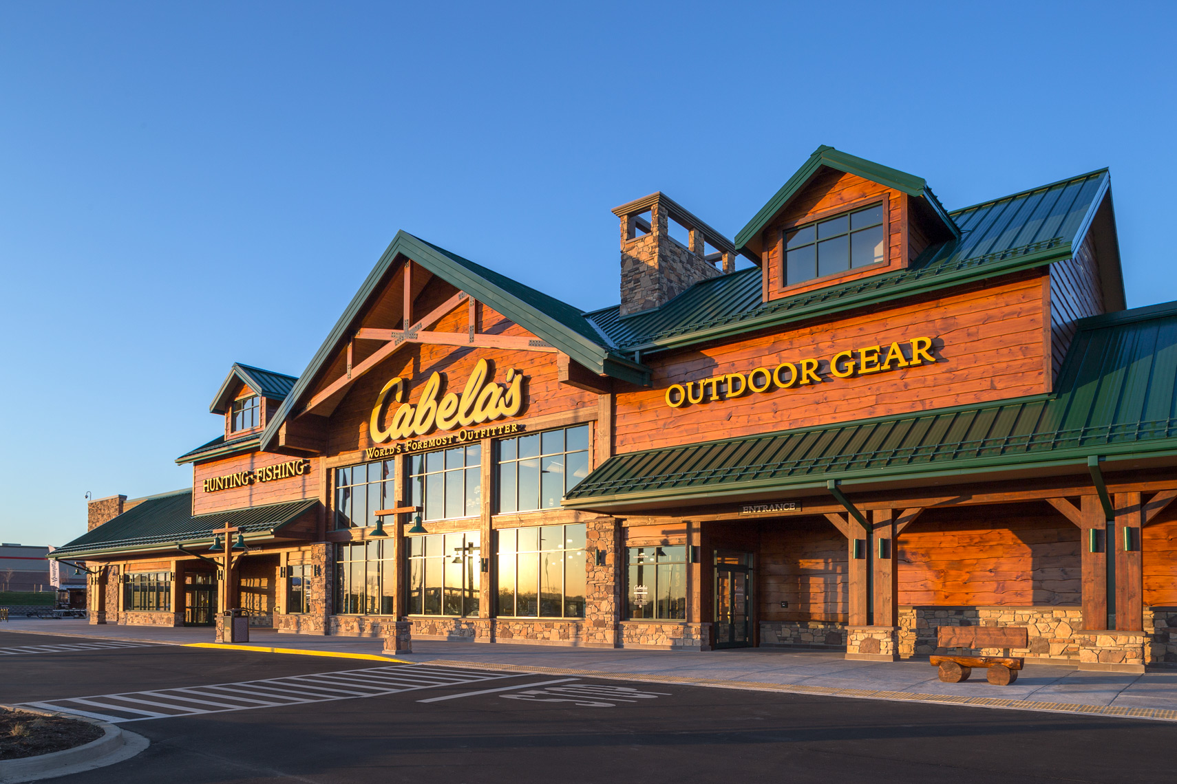 Sunrise at Cabela