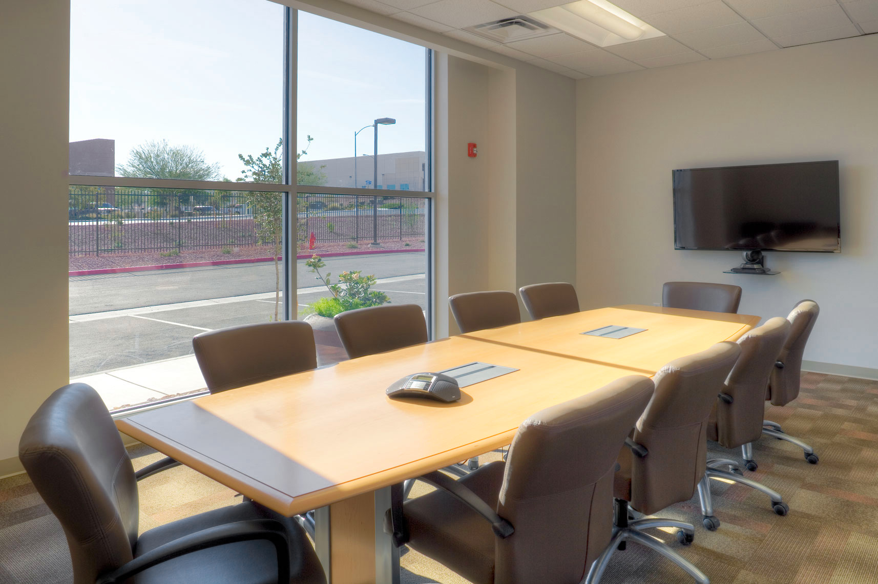 Conference room at Chelten House Foods in Las Vegas, NV