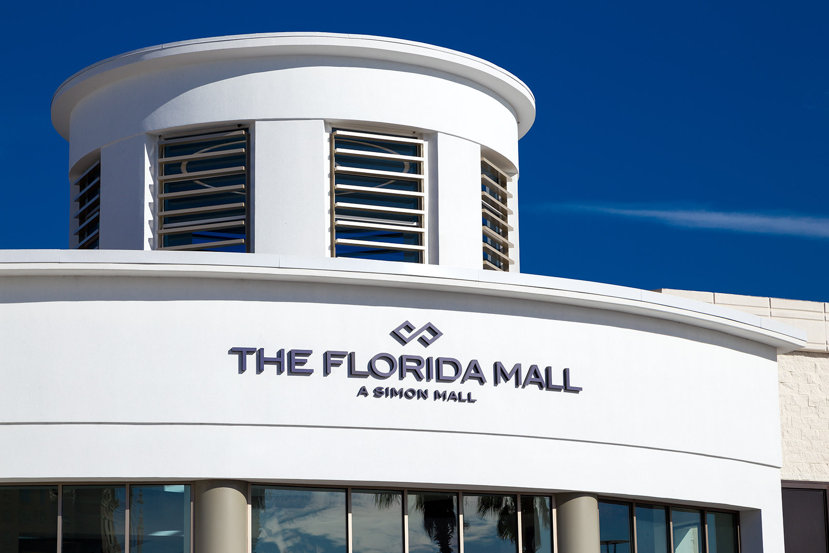 Florida Mall entrance detail
