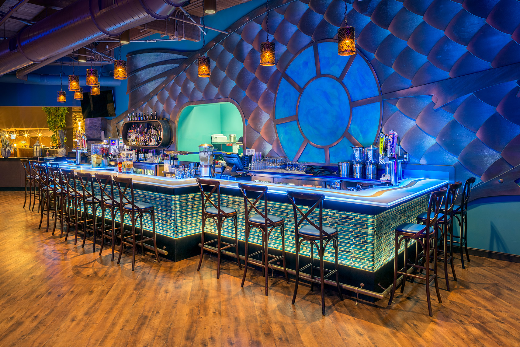 Neptunes Bar at Camelback Resort in Pennsylvania
